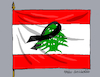 Cartoon: Duel in Lebanon. (small) by Cartoonarcadio tagged beirut,lebanon,asia,middle,east