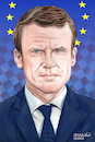 Cartoon: Emmanuel Macron-France. (small) by Cartoonarcadio tagged macron france president european union politician