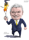 Cartoon: Ivan Duque of Colombia. (small) by Cartoonarcadio tagged colombia president latin america duque