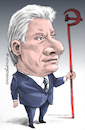 Cartoon: Miguel Diaz Canel-Cuba (small) by Cartoonarcadio tagged cuba president communism socialism castro