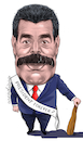 Cartoon: Nicolas Maduro Venezuela (small) by Cartoonarcadio tagged maduro venezuela latin america dictactor president socialism
