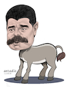 Cartoon: Nicolas Maduro Venezuela (small) by Cartoonarcadio tagged maduro dictatorship venezuela politician
