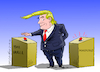 Cartoon: The emergencies of Trump. (small) by Cartoonarcadio tagged trump,maduro,the,wall