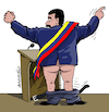 Cartoon: The power of Maduro (small) by Cartoonarcadio tagged maduro,latin,america,communism,venezuela