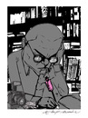 Cartoon: Intellectual !! (small) by oktaybingöl tagged intellectual,oktay,bingol