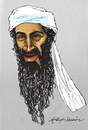 Cartoon: osama bin laden (small) by oktaybingöl tagged osama,bin,laden,oktay,bingol