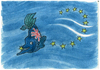 Cartoon: Without title (small) by Lv Guo-hong tagged fish,leave