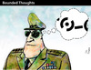 Cartoon: Bounded Thoughts (small) by PETRE tagged border,limits,countries