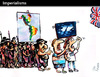 Cartoon: IMPERIALISMS (small) by PETRE tagged indigenous,peoples,war,invasion,america,falklands,argentina,united,kingdom