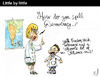 Cartoon: Little by little (small) by PETRE tagged democracy,spelling,school,pupils,teachers,education