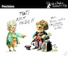 Cartoon: Precisions (small) by PETRE tagged criticism critic music musicians
