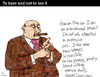 Cartoon: To have and not to see it (small) by PETRE tagged richmen,wealth,social,economy