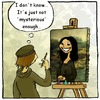 Cartoon: Mona Lisa smile (small) by andriesdevries tagged mona,lisa,painting,smile,leonardo,vinci