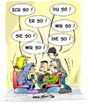 Cartoon: Kommunikation ist alles ... (small) by Trumix tagged kommunikation,sprache,jugend,deutsch,reden,sprechen