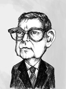 Cartoon: Dmitri Shostakovich (small) by gartoon tagged composer pianist musician artist