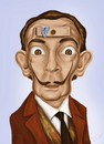 Cartoon: Salvador Dali (small) by gartoon tagged salvador dali caricature