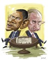 Cartoon: PUTIN OBAMA (small) by nader_rahmani tagged putin,obama