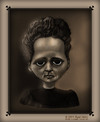 Cartoon: Marie Curie (small) by RyanNore tagged marie,curie,caricature,drawing,ryan,nore