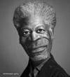 Cartoon: Morgan (small) by nommada tagged morgan,freeman