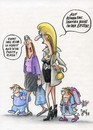 Cartoon: 1 klasse (small) by Petra Kaster tagged kinder,schule,erziehung,lifestyle,eltern