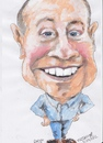 Cartoon: Derek (small) by jjjerk tagged bell,centre,dublin,irish,ireland,darndale,cartoon,caricature,portrait,blue