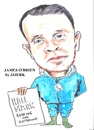 Cartoon: JAMES O BRIAN (small) by jjjerk tagged james brien cartoon cork irish ireland