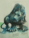 Cartoon: Lion of Benalmadena (small) by jjjerk tagged lion cartoon caricature animal wild spain benalmedna statue