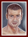 Cartoon: LUCIAN BUTE (small) by Kidor tagged champion lucian bute kidor iralia vasile