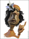 Cartoon: Muammar Gaddafi (small) by Silvio Vela tagged muammar gaddafi caricature image libya dead world affairs silvio vela otan