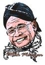 Cartoon: tribute to maridjan (small) by tagtigtug tagged mbah,maridjan,marijan