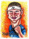 Cartoon: David Nalbandian (small) by gogna caricaturas tagged tennis