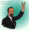 Cartoon: asghar farhadi (small) by Hossein Kazem tagged asghar,farhadi