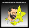 Cartoon: buffon (small) by Hossein Kazem tagged buffon