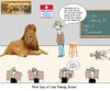 Cartoon: Lion Taming 101 (small) by hovermansion tagged lion,tamig,school,teacher,student,circus,elective