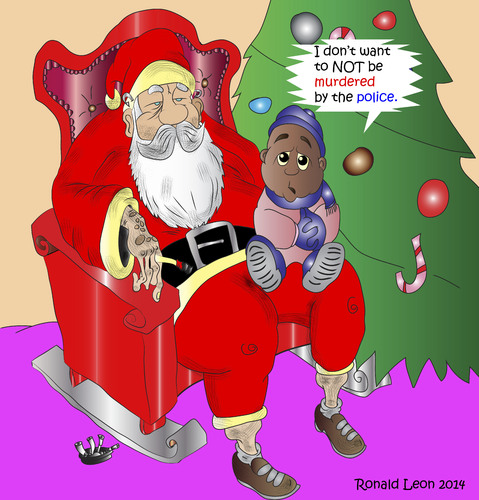 Cartoon: All I want for Christmas........ (medium) by DaD O Matic tagged cartoon,correction
