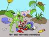 Cartoon: U.S.....Insects (small) by DaD O Matic tagged jimminy,cricket,insects,bugs,mantis