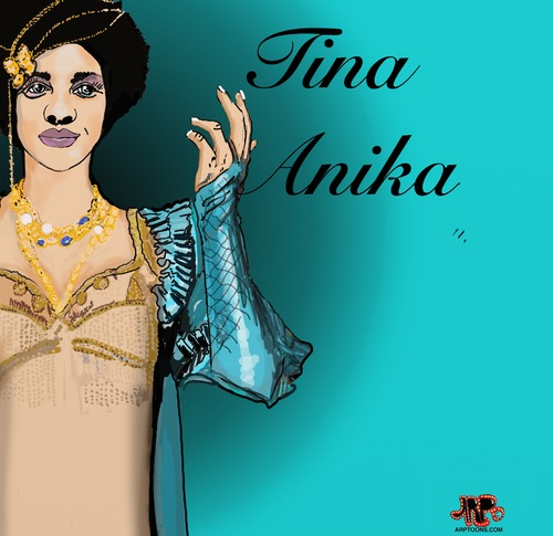 Cartoon: Tina (medium) by tonyp tagged arp,tina,anika,singer,song,girl,canada