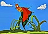 Cartoon: Butterfly (small) by tonyp tagged arp,red,butterfly,arptoons