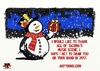 Cartoon: Holiday wishes (small) by tonyp tagged arp,card,holidays,fun,party,thanks