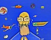 Cartoon: Thoughts (small) by tonyp tagged arp,tonyp,arptoons,karl,thurman,space,thoughts
