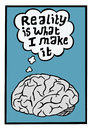 Cartoon: My brain has a mind of its own (small) by baggelboy tagged brain,think,perception