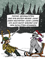 Cartoon: Dogtaris Weihnachtskarte (small) by dogtari tagged weihnachten,advent,dogge,hund,katze,dogtari,bruno
