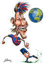 Cartoon: Neymar (small) by William Medeiros tagged soccer,futebol,barcelona
