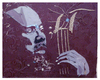 Cartoon: Charles Mingus (small) by juniorlopes tagged mingus,jazz