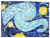 Cartoon: detail Starry Night (small) by juniorlopes tagged starry,night
