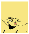 Cartoon: Etta James (small) by juniorlopes tagged etta,james