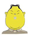 Cartoon: Kim Jong (small) by juniorlopes tagged kim,jong