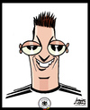 Cartoon: Mesut Ozil (small) by juniorlopes tagged world,cup