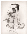 Cartoon: My caricature by Turcios (small) by juniorlopes tagged turcios