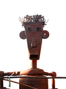 Cartoon: Self portrait (small) by LeeFelo tagged scrap,iron,recycled,selfportrait